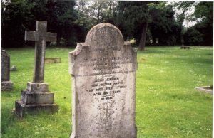 Saggers-McTrend gravestone