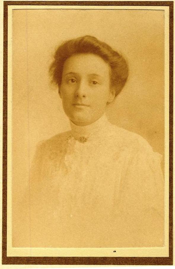 Sarah Frances Rogers, née Saggers, born England, 1877; died Vancouver, B.C., Canada, 1954.