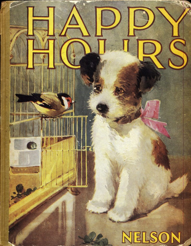 Happy Hours child's book cover 1940